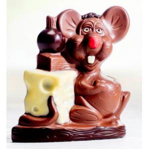 Aeschbach Chocolatier Schokoladen Lachmaus (190g)