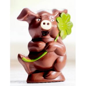 Aeschbach Chocolatier Schokoladen Schweinchen Lucky (150g)