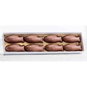 Aeschbach Chocolatier chocolate fish box of 8