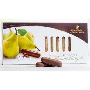 Aeschbach Chocolatier Williamsstängeli Schiebeschachtel (125g)