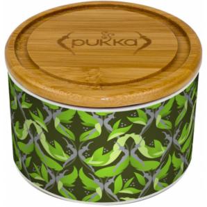 Pukka ceramic jar matcha green