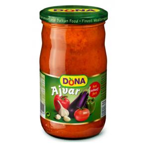 Dona Ajvar scharf (680g)
