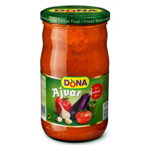 Dona Ajvar spicy (680g)