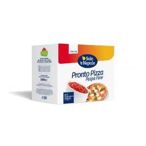 o Sole e Napule chopped tomatoes for pizza (2x5Kg)
