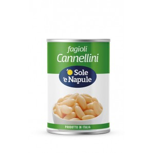 o Sole e Napule Cannellini Beans (400g)