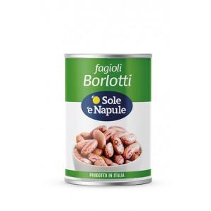 o Sole e Napule Borlotti-Bohnen (400g)