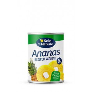 o Sole e Napule Ananas zuckerfrei (565g)