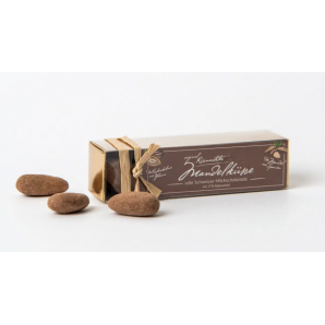 Küsnachter Mandelküsse Milchschokolade 37% in der Goldschachtel (70g)