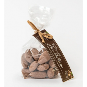 Küsnachter Almond Kisses dark chocolate 58% with card (100g)