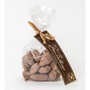 Küsnachter Mandelküsse Zartbitter Schokolade 58% mit Kärtli (100g)