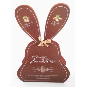 Küsnachter Mandelküsse Zartbitter Schokolade 58% Osterhase (100g)