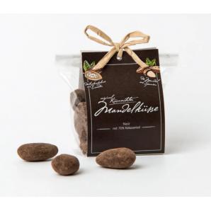 Küsnacht Almond Kisses Noir 70% with flap (100g)