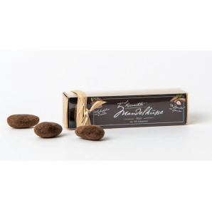 Küsnachter Mandelküsse Noir 70% in der Goldschachtel (70g)