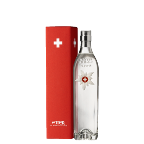 Etter Edelweiss Zuger Kirsch AOP in gift box Switzerland (35cl)