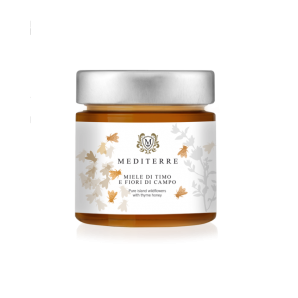 MEDITERRE Honig von Wildblüten und Thymian (280g)