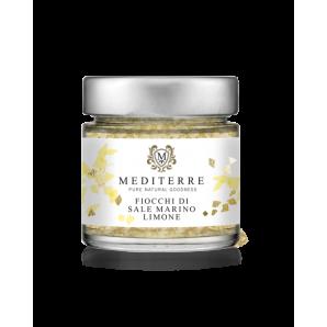 MEDITERRE Meersalz Flocken mit Zitrone (80g)