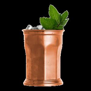 OCTAGONAL Julep Copper Mug (39cl)