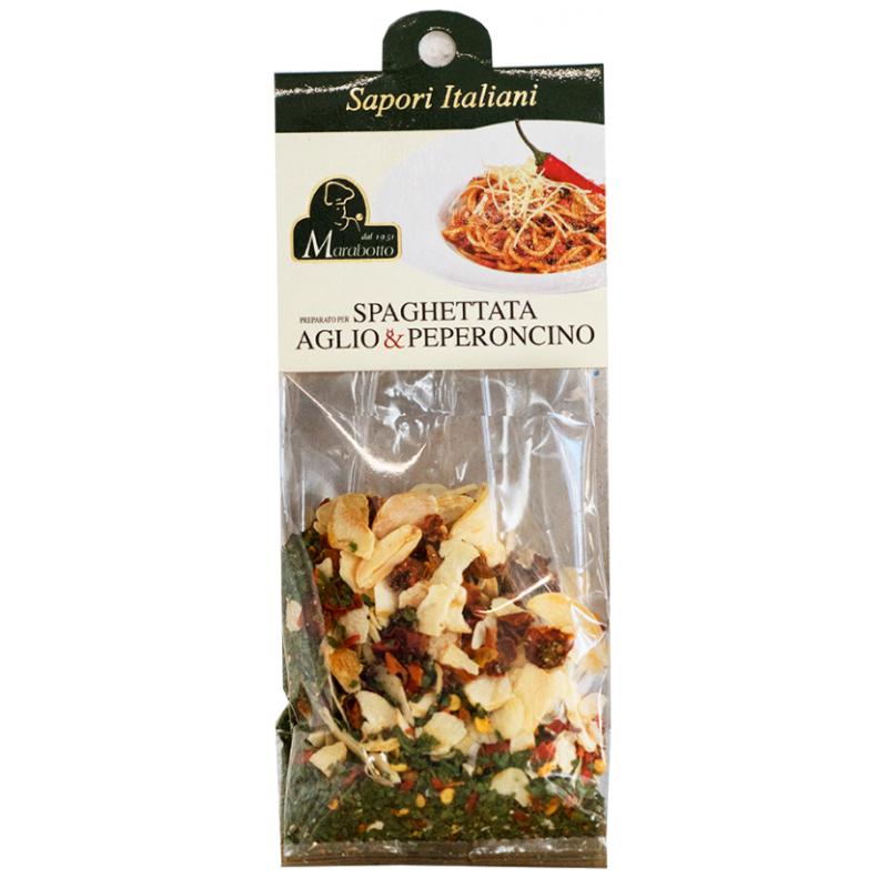 Marabotto Sapori Italiani Spaghettata aglio & peperoncino (50g)