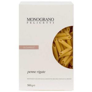 MONOGRANO FELICETTI Penne rigate Bio-organic il Cappelli (500g)