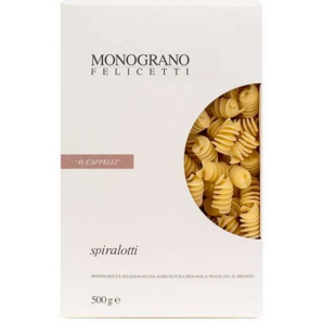 MONOGRANO FELICETTI Spiralotti Bio-organic il Cappelli (500g)