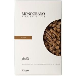 MONOGRANO FELICETTI Fusilli Bio-organic Farro (500g)