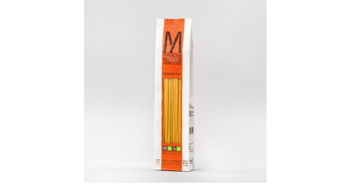 Mancini Spaghettini di semola di grano duro (1kg)