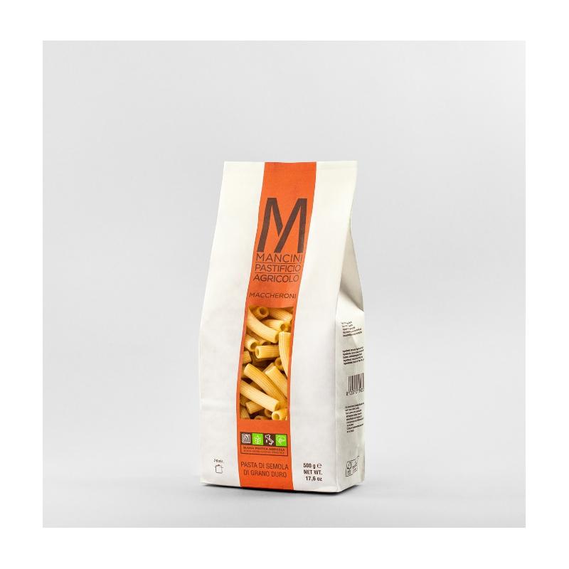Mancini Maccheroni di semola di grano duro (500g)
