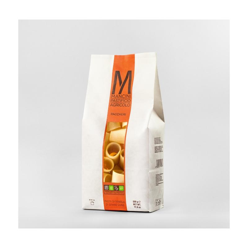 Mancini Paccheri di semola di grano duro (500g)
