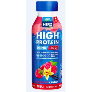 HIRZ High Protein Drink Rasperry & Vanilla (330ml)