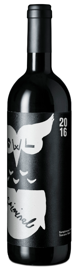 Image of Animal.Wine Criminal Owl (75cl)