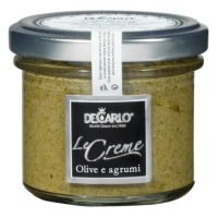De Carlo Crema di Olive verdi agli agrumi (100g)