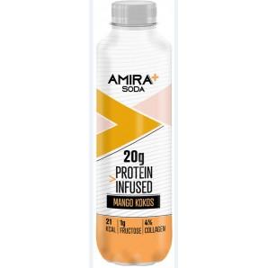 Amira+ Soda Protein Infused Mango & Kokos (500ml)