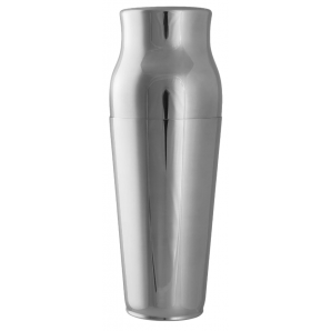 Calabrese stainless steel shaker two-part silver (90cl)