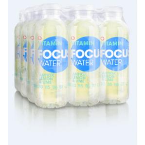 FOCUS WATER - antiox Zitrone/Limette (12x50cl)