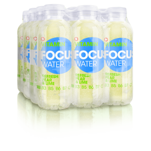 FOCUS WATER - refresh pear / lime (12x50cl)