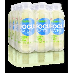 FOCUS WATER - refresh Birne/Limette (12x50cl)
