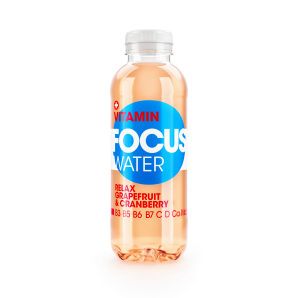 FOCUS WATER - relax (grapefruit / cranberry)