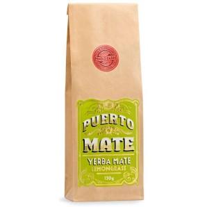PUERTO MATE Teeblätter Yerba Mate Zitronengras Nachfüllbeutel (150g)