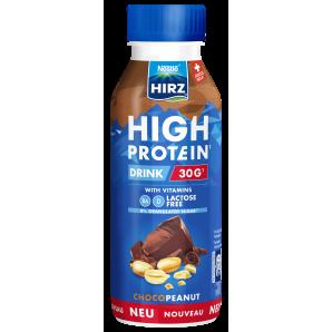 HIRZ High Protein Drink Choco & Peanut (330ml)