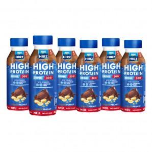 HIRZ High Protein Drink Choco & Erdnuss (6x330ml)