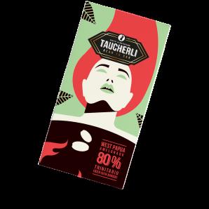 Taucherli Bean To Bar 80% West Papua (80g)