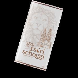 Taucherli Tsüri Schoggi Hazelnut Crunch (100g)