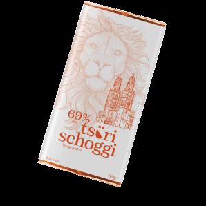 Taucherli Tsüri Schoggi Orange Peel Oil (100g)