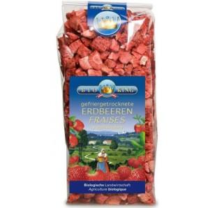 BioKing getrocknete Erdbeeren (40g)