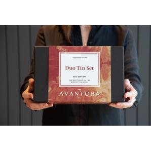 AVANTCHA The Organic Duo Tin Set