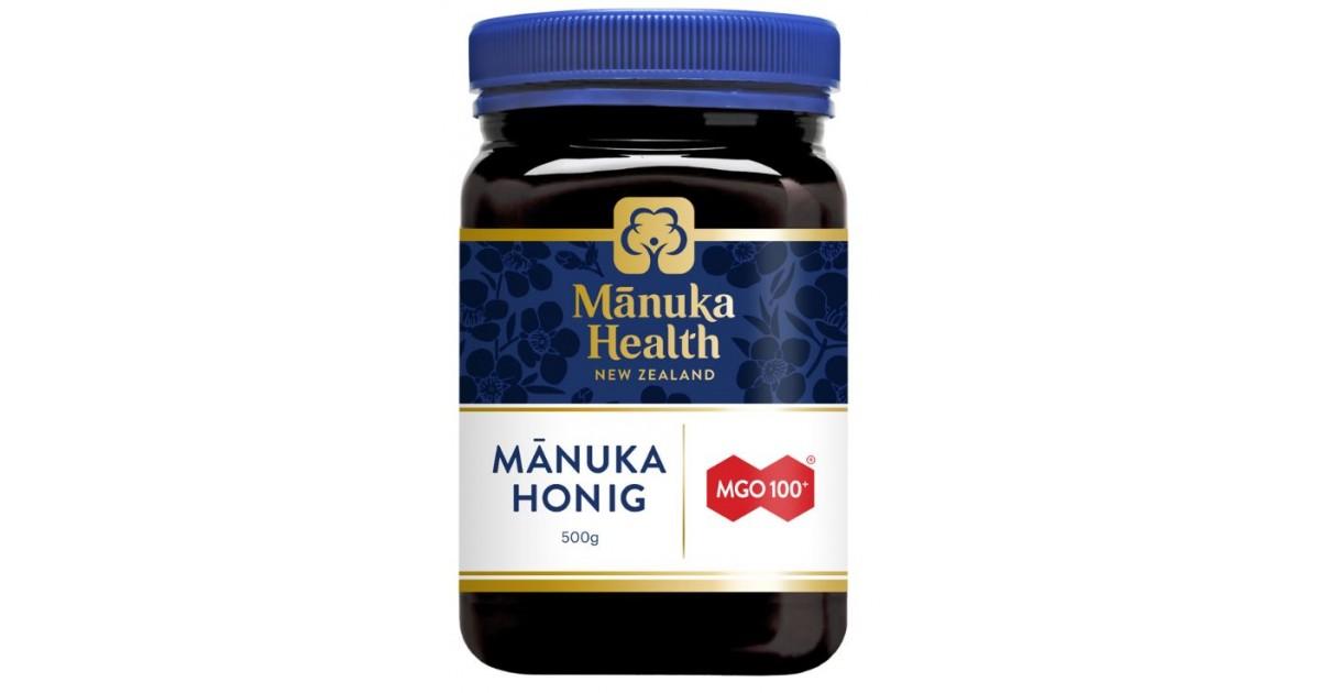 Manuka Health Honey MGO100+ (500g)