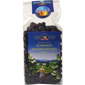 BIOKING Schwarze Johannisbeeren Gefriergetrocknet Bio (50g)