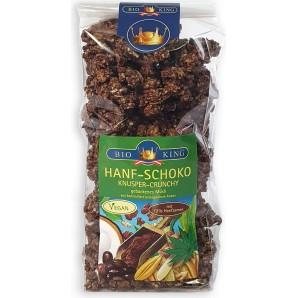 BIOKING Hanf-Schoko Knusper-Crunchy Bio (375g)