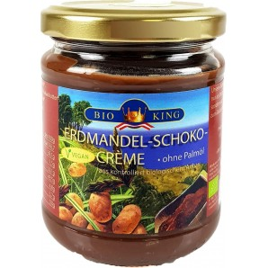 BioKing Erdmandel-Schoko-Creme (200g)