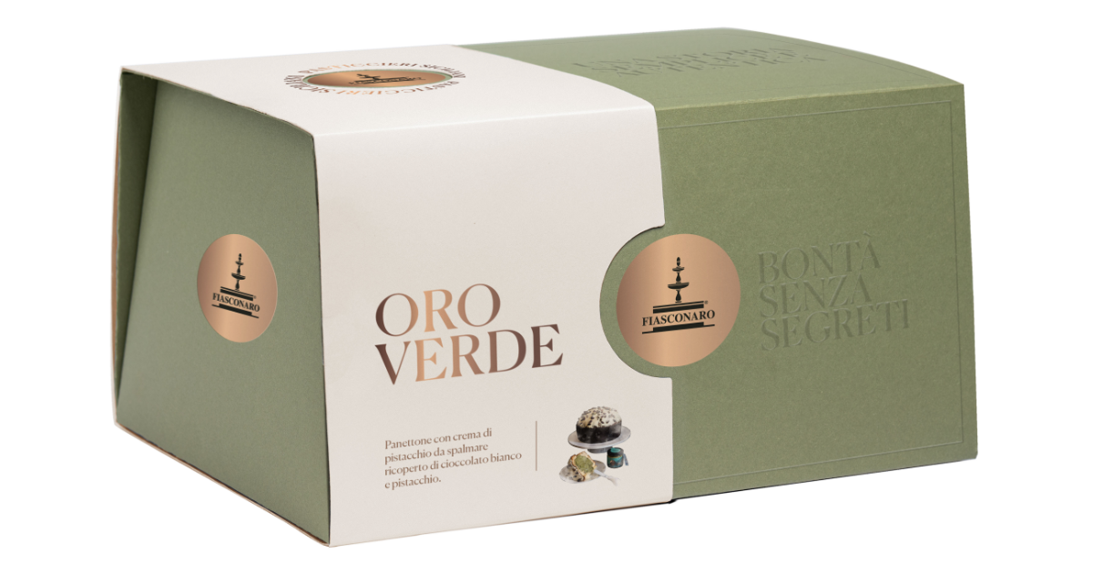 Fiasconaro Panettone Oro Verde (1kg)